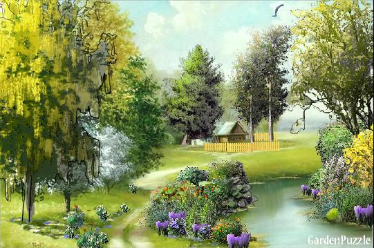 Projekt ogrodu:ZWIASTUNY WIOSNY... - Wiosna