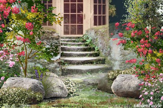 Projekt ogrodu:schody