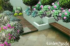 Projekt ogrodu:NA TARASIE.....