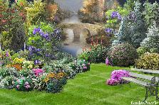 Projekt ogrodu:WITAM WIECZORKIEM.....