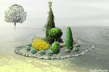 Projekt ogrodu:rabata1
