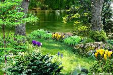 Projekt ogrodu:zapach wiosny....