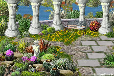 Projekt ogrodu:old garden