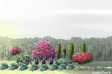 Projekt ogrodu:Przed domem