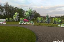 Projekt ogrodu:Odgodzenie z wyspami