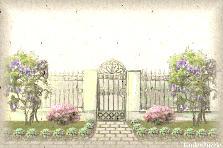 Projekt ogrodu:Brama letnnia