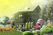 Projekt ogrodu:Domowy postuj