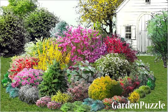Klomb Gardenpuzzle Projektowanie Ogrod 243 W W Przeglądarce