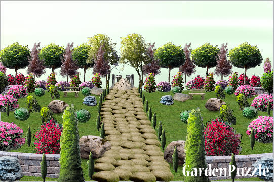 Maze jigsaw puzzle garden puzzle apk download free for Gardening tools crossword