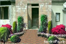 projekt wejścia do domu - Wiosna
